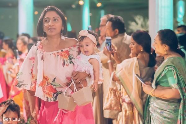 Bridesmaid attire design details.