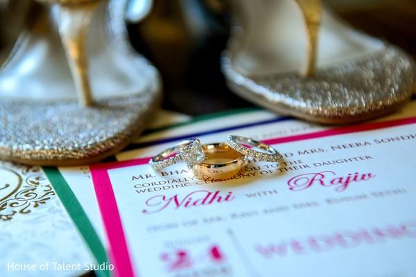 Hindu wedding rings.