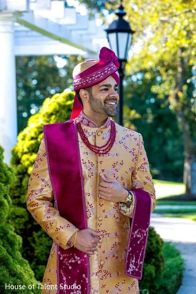 Indian groom photo shoot.
