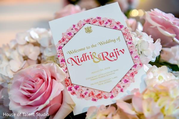 Flower detail in the Hindu wedding.