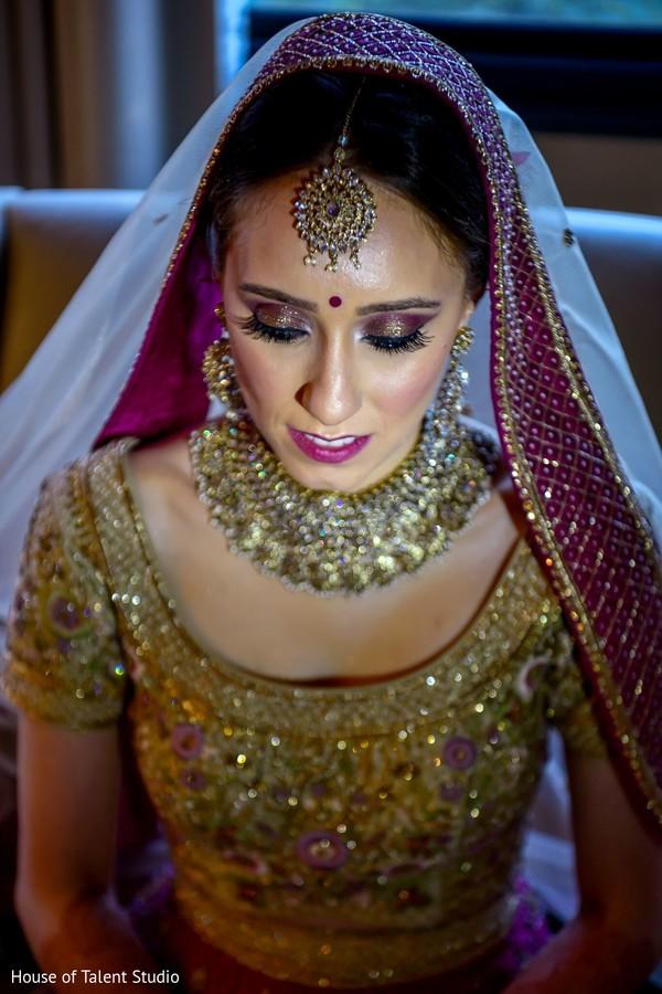Maharani with make up done.