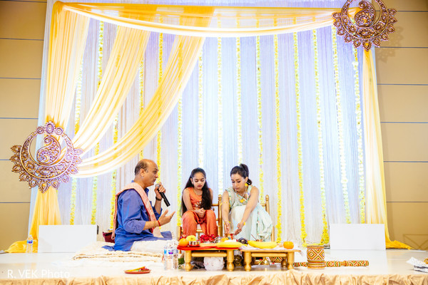 Moments of the pre-wedding celebrations.