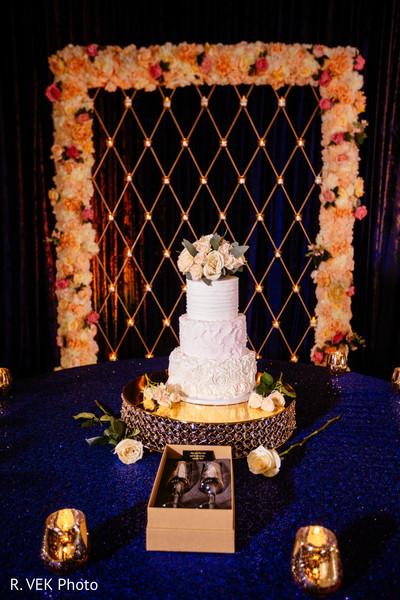 Indian wedding cake design ideas.