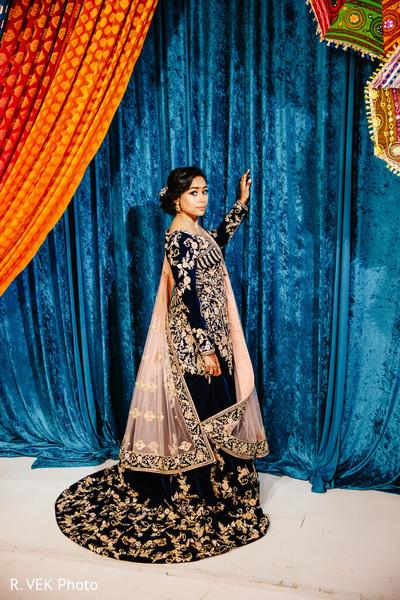 Indian wedding saree design ideas.