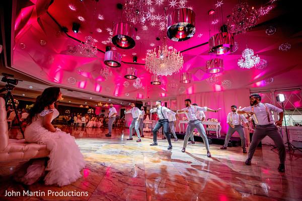 Groom and groomsmen choreography
