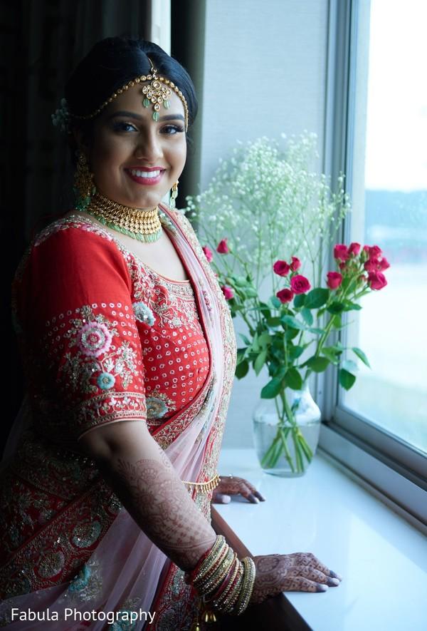 Maharani with Hindu wedding attire.