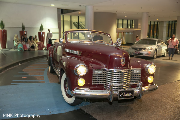 Indian couple's Cadillac.