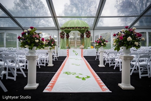 Clear ceiling for Indian chinese wedding ceremony tent.