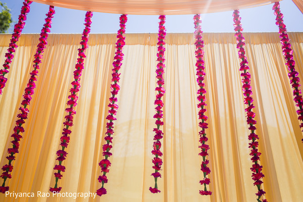 Flaral decoration in hindu wedding.