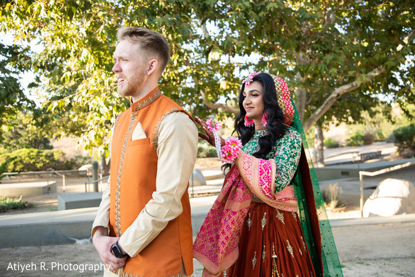 Maharani about to encounter her Indian groom.