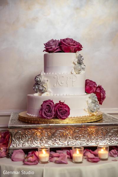 Indian wedding cake design.