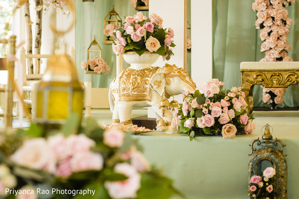 Indian wedding floral and decor ideas.