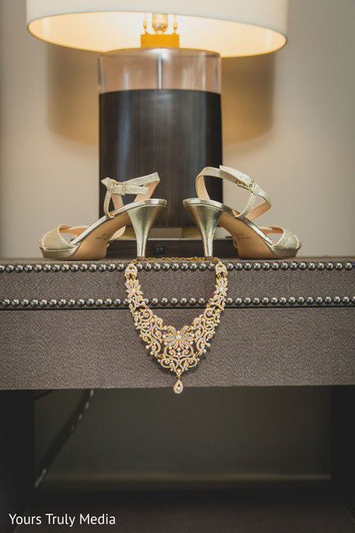 Maharani's jewels and shoes to be worn at the reception