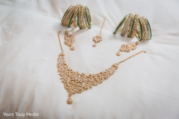 Indian bride's jewelry