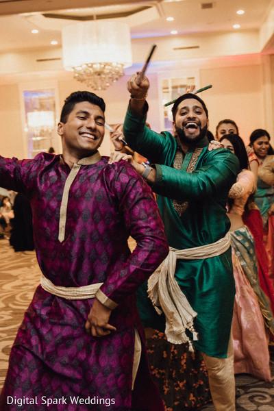 Indian relatives dancing