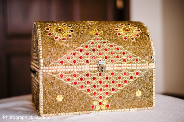 Indian wedding luxury decoration.