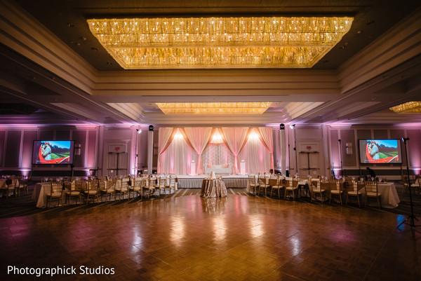 Indian wedding's lighting decor ideas.