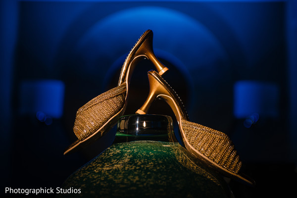 Maharani's shoes on display.
