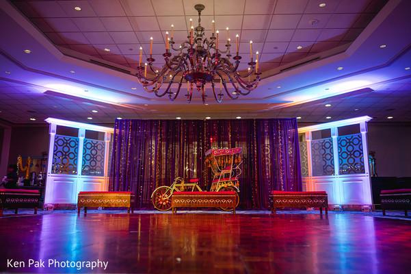 The sangeet hall dance-floor