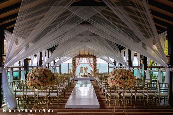 Indian wedding ceremony venue.