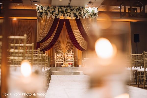 Indian wedding venue decor ideas.