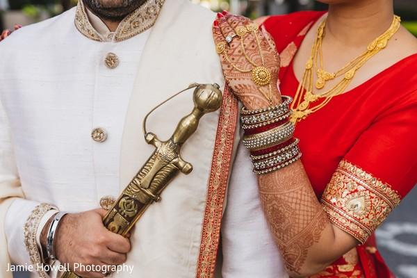 Maharani and Raja close up photo shoot.