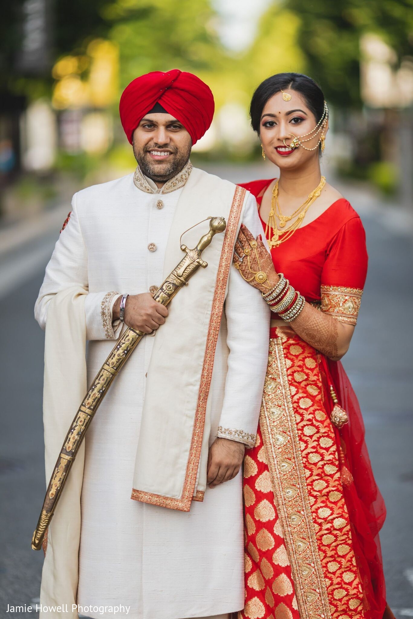 Alpharetta Ga Indian Fusion Wedding By Jamie Howell Photography