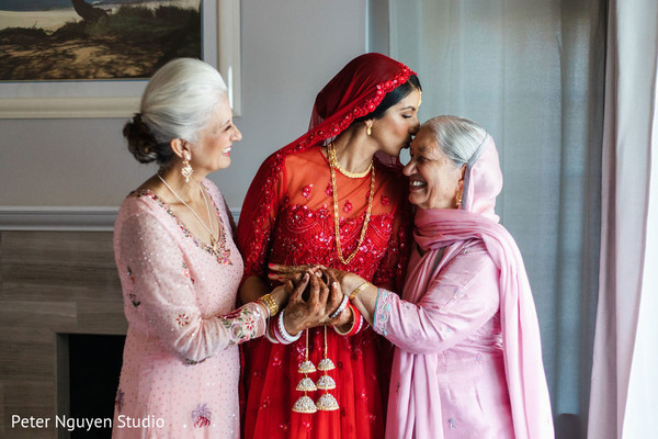 Maharani with mother and grandmother capture.