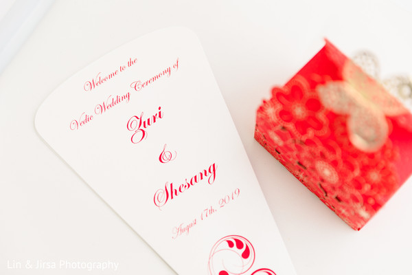 Indian wedding welcom personalized sign and favor.