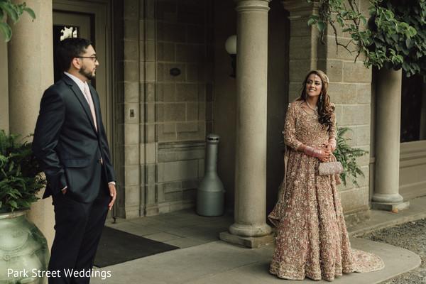 Maharani looking at raja photo session.