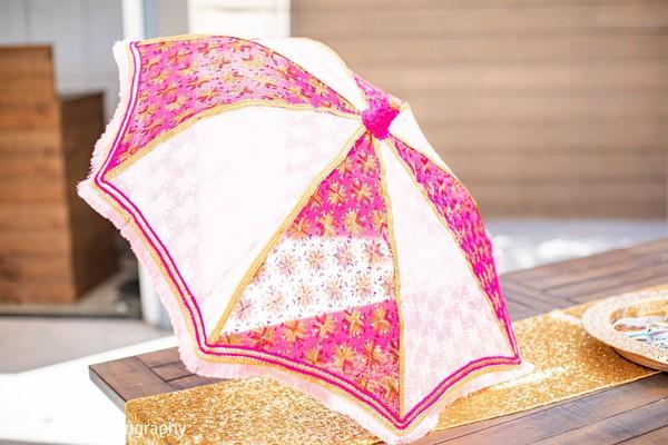 Indian wedding umbrella idea