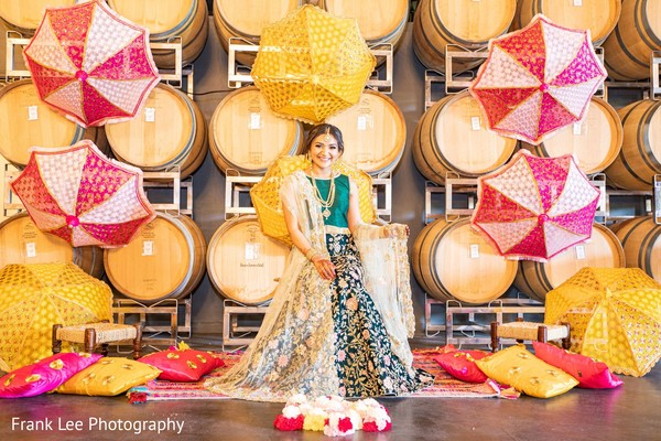 Indian bridal portrait idea