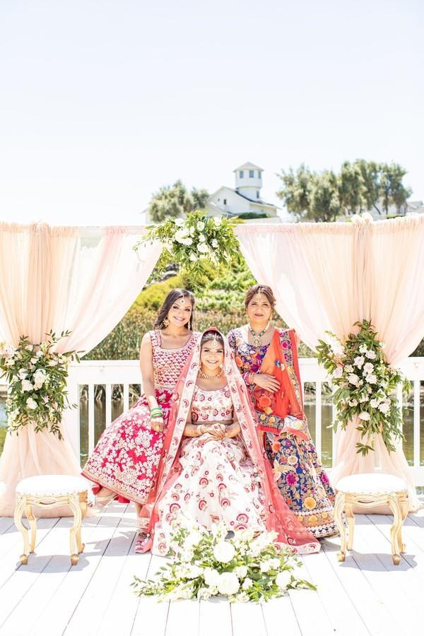 Indian women wedding portrait
