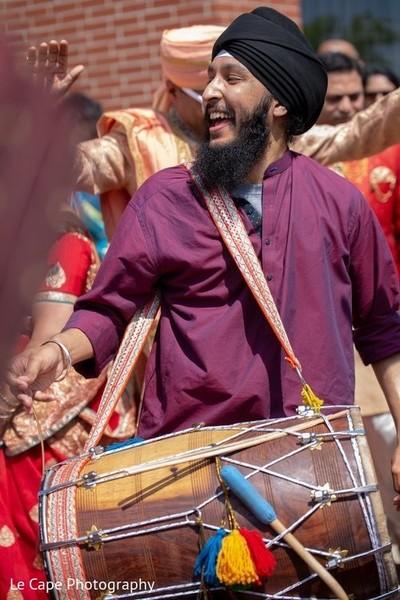Baraat wooden drum