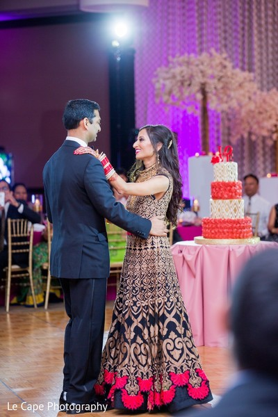 Romantic indian wedding dance