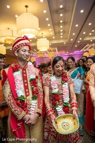 Indian wedding photo smiles