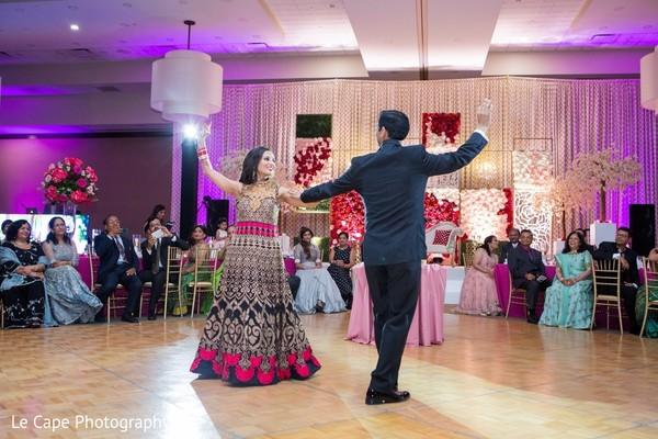 Customary Indian wedding dance