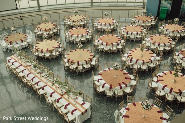 Mint palette Indian wedding decoration