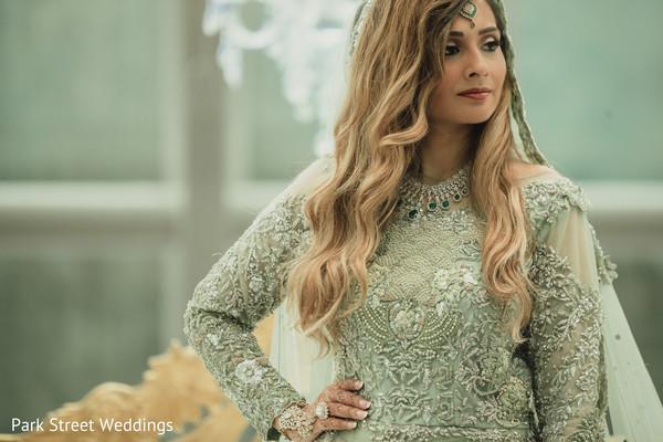 Mint Wedding Lehenga Bridal