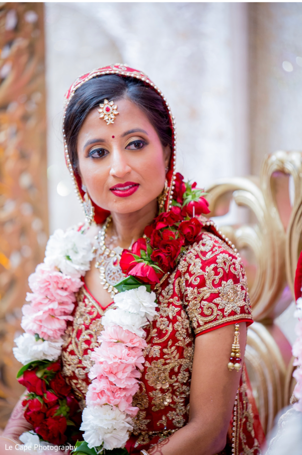 raditional Indian bridal ceremony fashion.