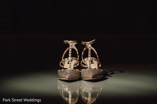 Indian wedding beige shoes