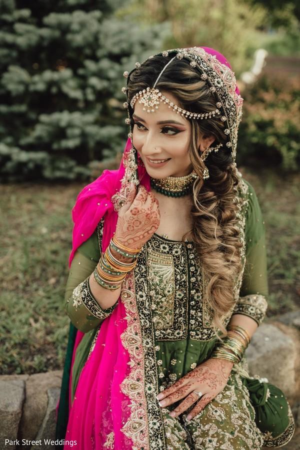 Juniper bridal lehenga.