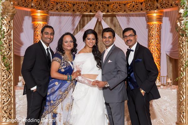 Maharani and raja reception photo session.