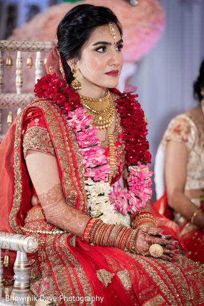 Glamorous Maharani on her Carmesi Lahnga Choli