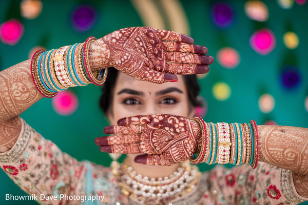 Fascinating indian bridal mehndi