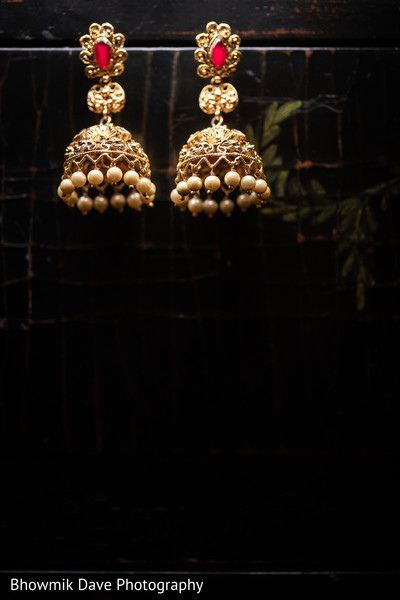 Luxury traditional Jhumka earrings
