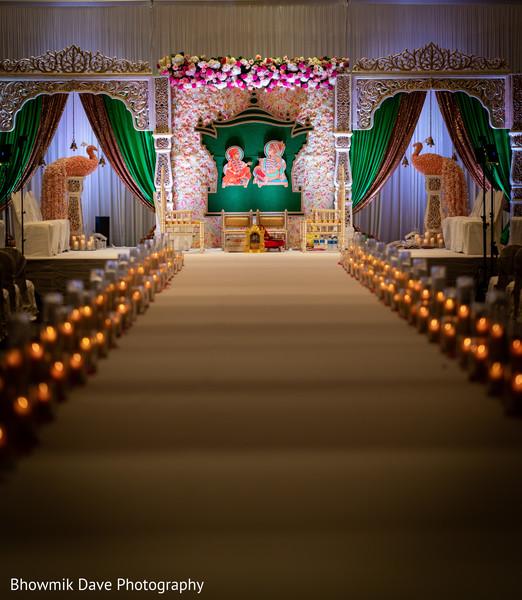 Indian Flower mandap decor