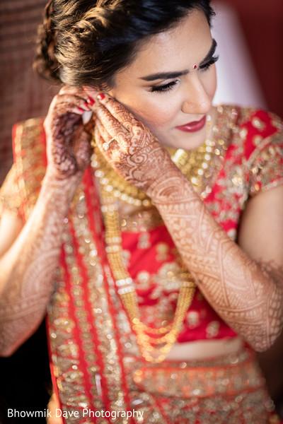 Fascinating indian bridal mehndi