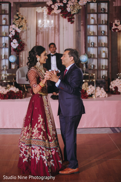 Maharani dancing with an Indian relative