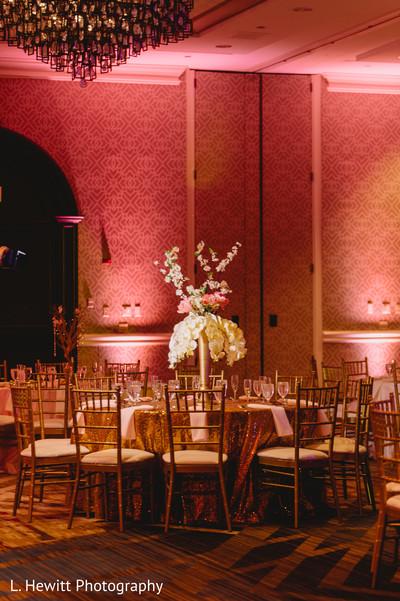 Tall Indian wedding table centerpiece flower base.